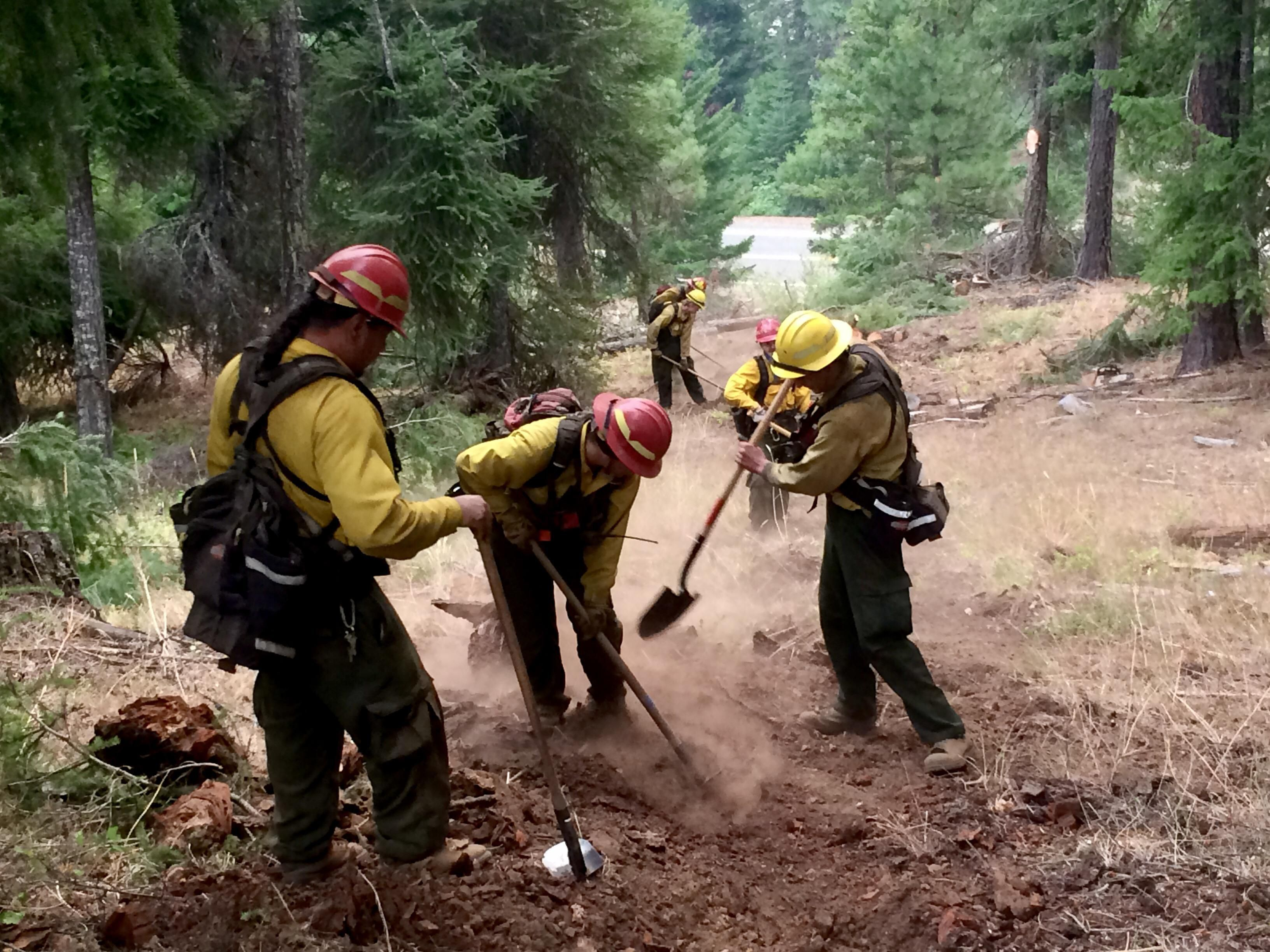 Warm, dry conditions bring early fire danger to Oregon